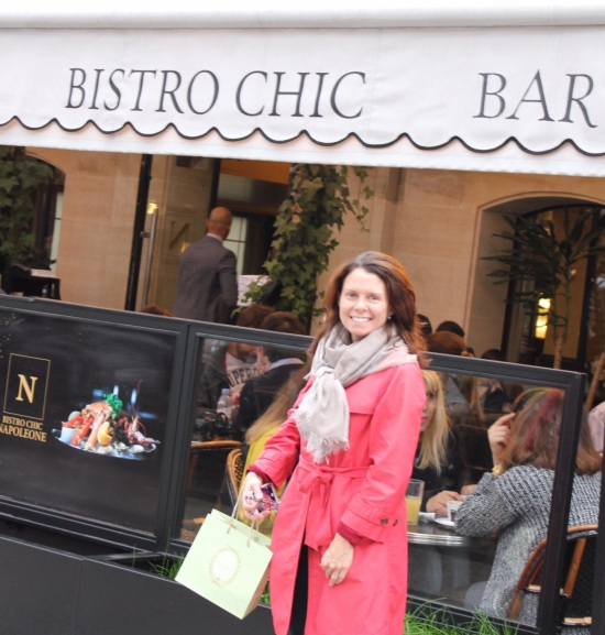 Jennifer and Bistro Chic Sign