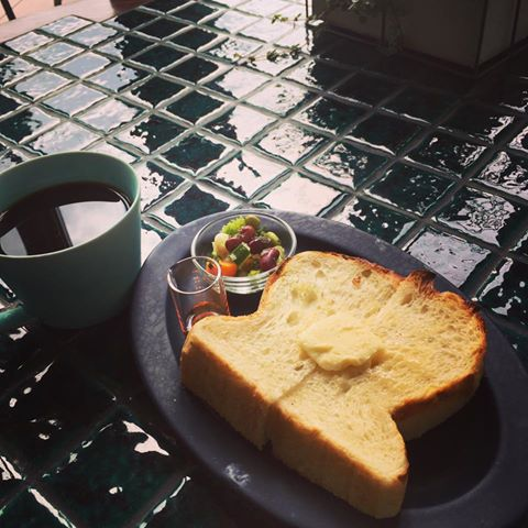 葉山のami hayama さんにて ランティミテのパンを使って頂いてます。(2017.09.22)