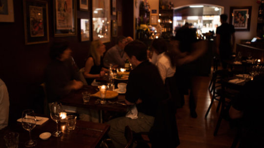 Bistro busy