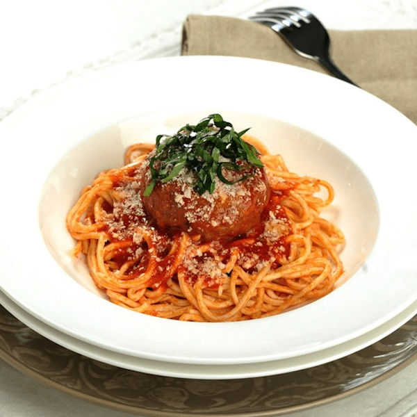 Molto Meatball Spaghetti