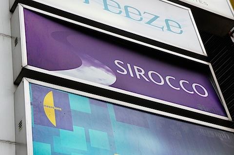 SIROCCOに行ってきました。