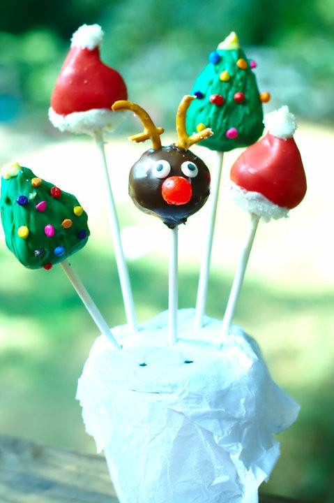 christmas Lollie Cakes