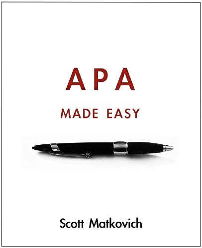 APA Made Easy (APA 6th Edition)