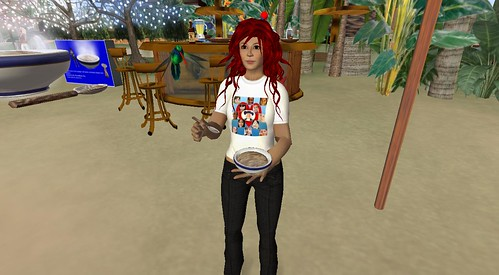 Quaker Oatmeal Inauguration Party in Second Life