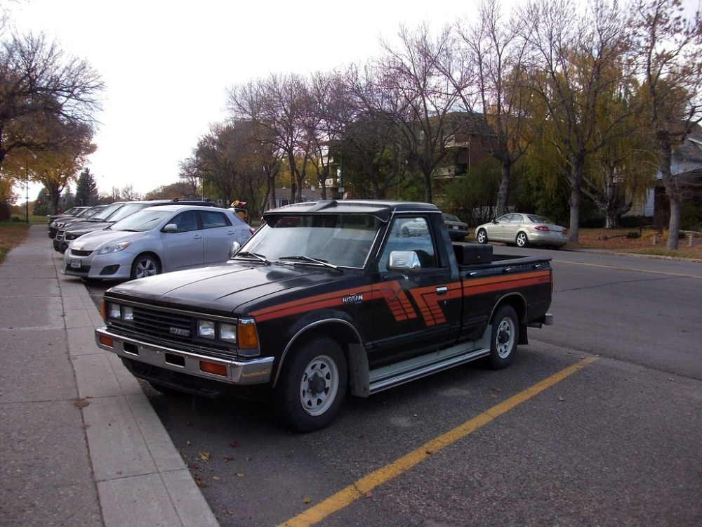 medium resolution of 1983 nissan hustler pickup truck