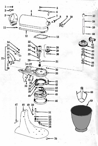KITCHENAID MIXER REPAIR MANUAL : REPAIR MANUAL