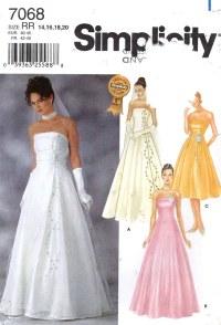 BRIDESMAIDS DRESS PATTERNS