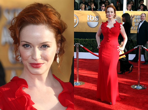 Christina-Hendricks-red-dress