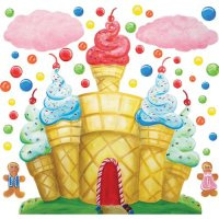 CANDY LAND DECORATIONS - CANDY LAND