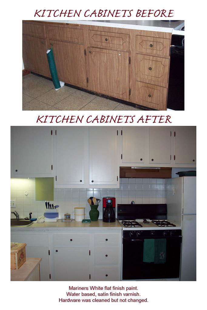 CLEAN GREASY KITCHEN CABINETS