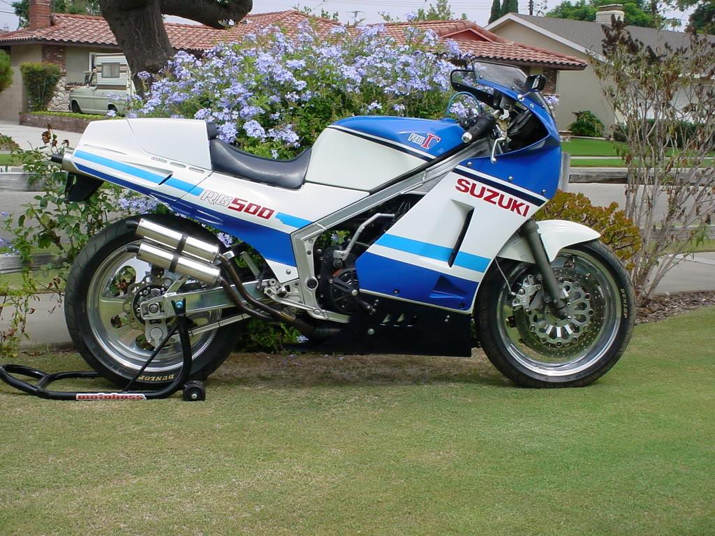 Suzuki Rg500 Gamma Wgerman Spec Colour Wiring Diagram