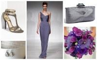 GREY BRIDESMAID DRESS : GREY BRIDESMAID