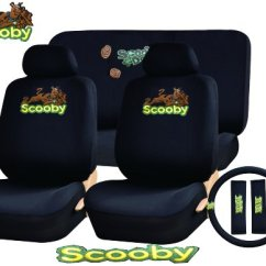 Scooby Doo Chair Boon Flair High Green Car Seat Cover 11 Piece Auto Interior Gift Set A Of 2 Covers