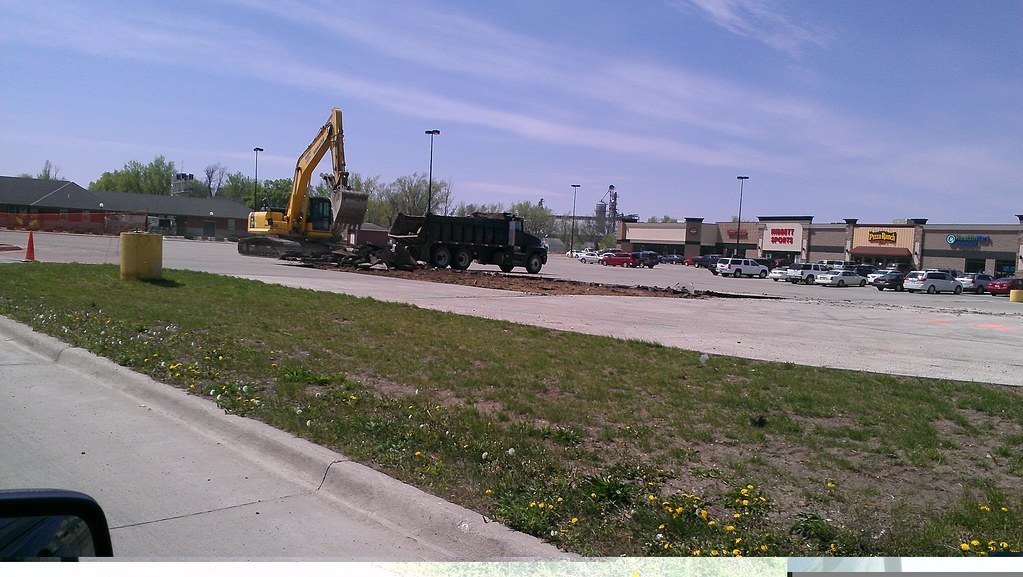 Old Depot Plaza (Former Wal-Mart) - Carroll, Iowa - Make Way For Culver's!