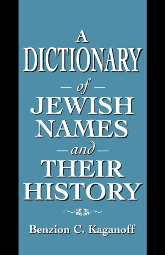 Jewish Origins Surnames