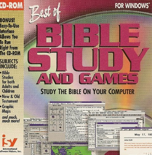 Best of Bible Study and Games