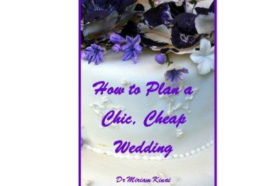 How To Plan A Wedding By Yourself