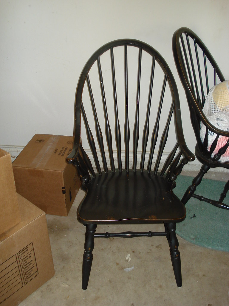 distressed black dining chairs rocking chair pillows furniture for restoration hardware