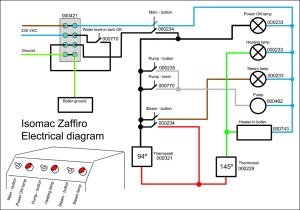 REFRIGERATOR ELECTRICAL DIAGRAM  REFRIGERATOR ELECTRICAL