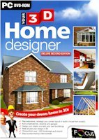 BRAND NEW Focus Multimedia Your 3d Home Designer Deluxe 2nd Edition Step-By-Step Tutorial Training