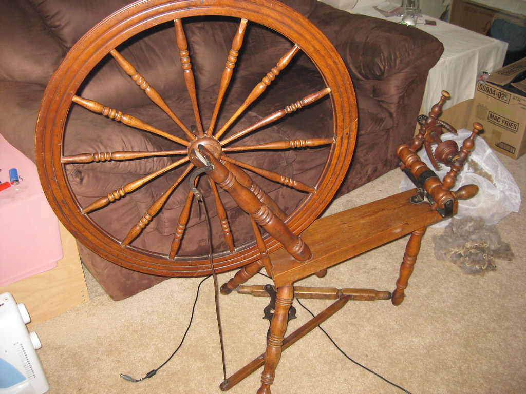 chair revolving steel base with wheels design interior antique spinning wheel pictures