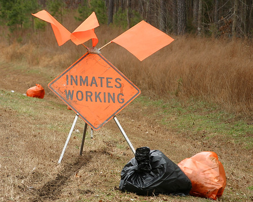 INMATES WORKING