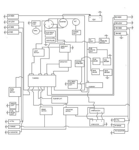 wiring diagram motorcycle alarm