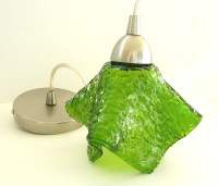 GLASS PENDANT LAMP SHADES - GLASS PENDANT - ALUMINIUM ...
