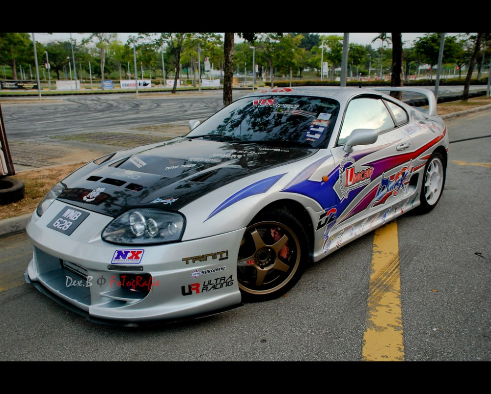 medium resolution of toyota supra drift car