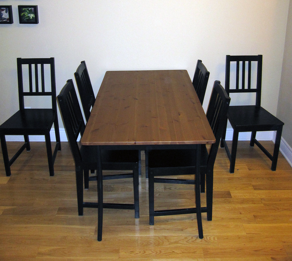 cheap tables and chairs wall protector from ikea dining