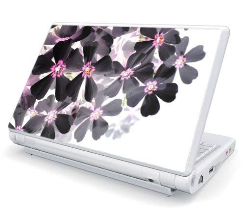 Dell Mini 1010 / 10v Netbook Skin - Asian Flower Paint