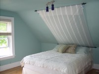 SLOPED CEILING BEDROOM