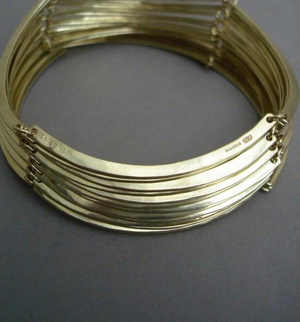 Gold Hallmarks Jewelry - 14k Rosary Bracelet