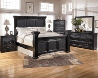 ASHLEY BLACK BEDROOM FURNITURE : BEDROOM FURNITURE ...