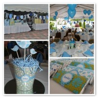 BOY BABY SHOWER CENTERPIECES. BOY BABY - ARRIVAL OF NEW BABY