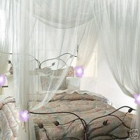 BED CANOPY FABRIC : BED CANOPY - BALI FABRIC VERTICAL BLINDS