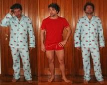 Christmas Adult Pajamas with Feet