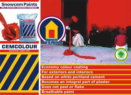 Cemcolour WATERPROOF CEMENT PAINT