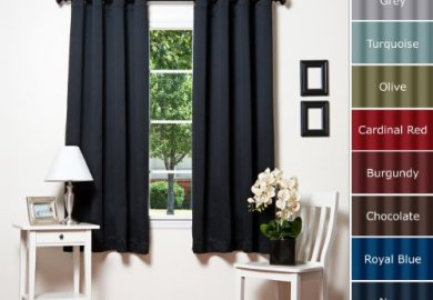 Black Bedroom Curtains 63