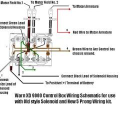 Warn Xd9000i Solenoid Wiring Diagram Hunter Fan Light Switch
