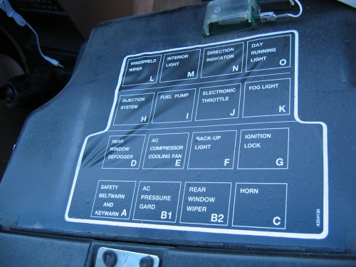 small resolution of saab 9000 relay diagram