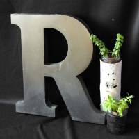 METAL WALL LETTERS DECOR - LETTERS DECOR | Metal Wall ...