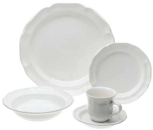 Mikasa French Countryside 45-Piece Dinnerware Set, Service for 8