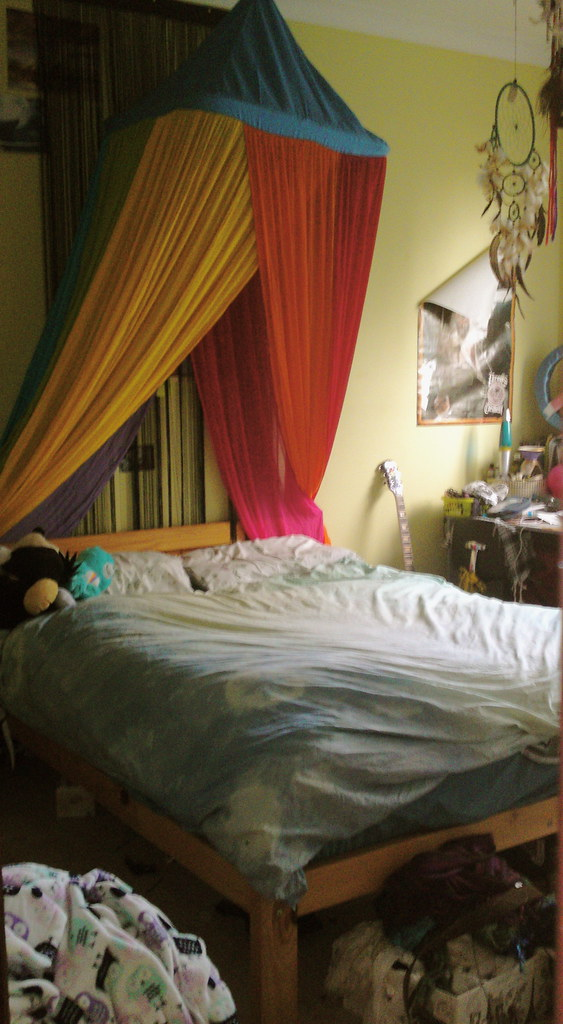 Hanging Canopy Bed Hanging Canopy Acoustic Drapery