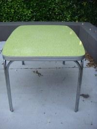 CHROME KITCHEN TABLES. CHROME KITCHEN - ANTIQUE TABLES
