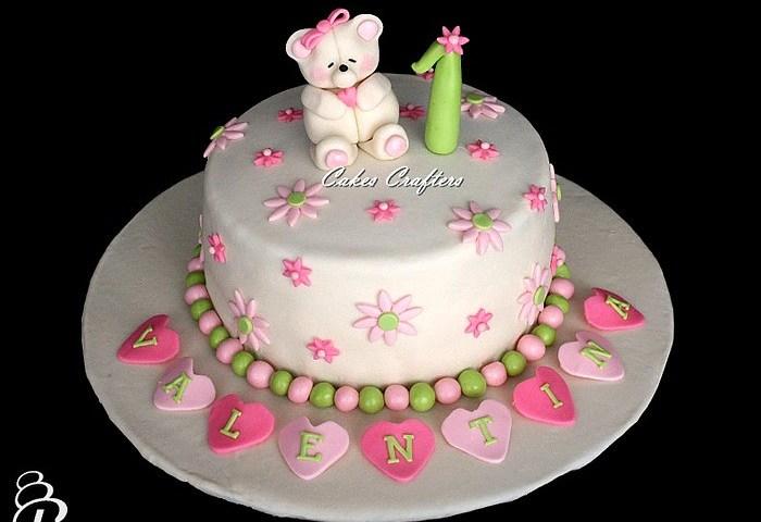 Girl First Birthday Cake Images Hemmensland