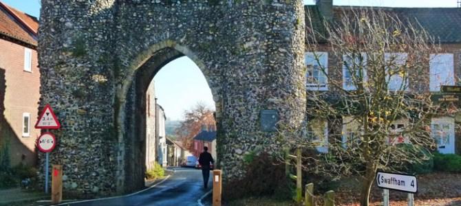 The Castle at Castle Acre