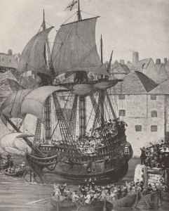 Mayflower, Pilgrim Fathers, Plymouth, New World