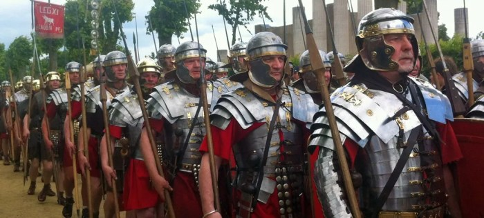 Roman soldiers, what did the Romans do for us