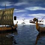 Viking, longships